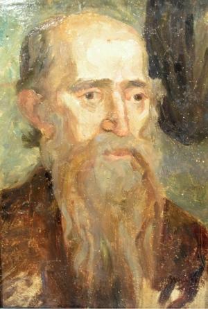 Ipolit Strâmbu  - Portret de barbat