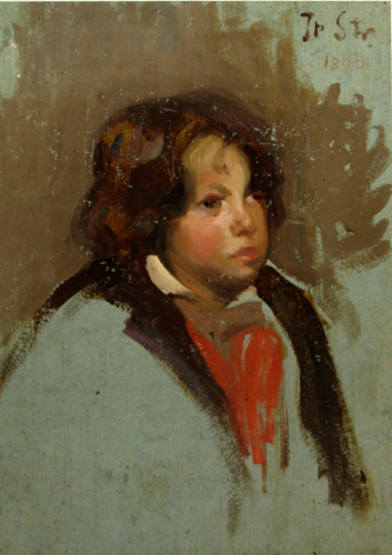 Ipolit Strâmbu  - Portret de copil