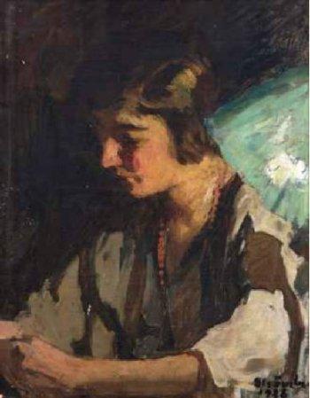 Ipolit Strâmbu  - Portret de femeie