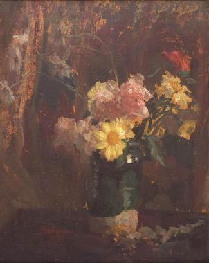 Ipolit Strâmbu  - Vas cu flori.