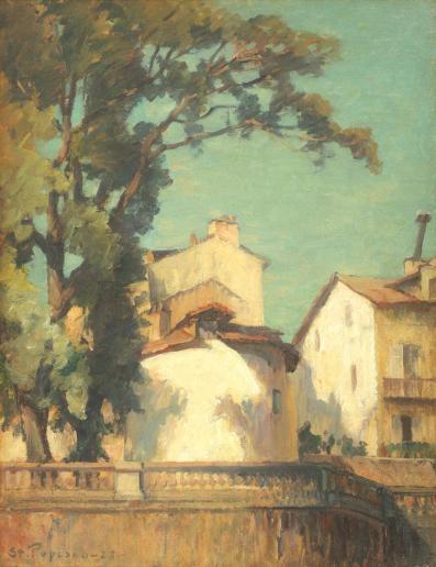 Ștefan Popescu - Case la Bonnieux