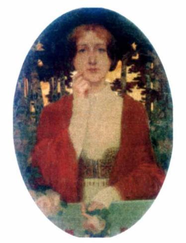 Ștefan Popescu - Femeie în roşu