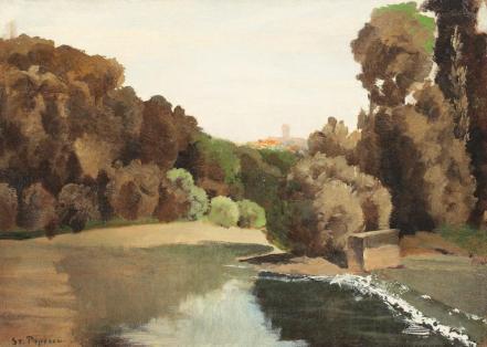 Ștefan Popescu - Jardin du Luxembourg