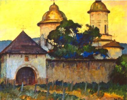 Ștefan Popescu - Mănăstirea cu două turle