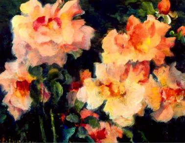 Ștefan Popescu - Natură statică cu flori