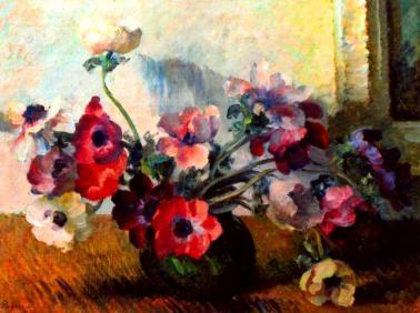 Ștefan Popescu - Natură statică cu flori .