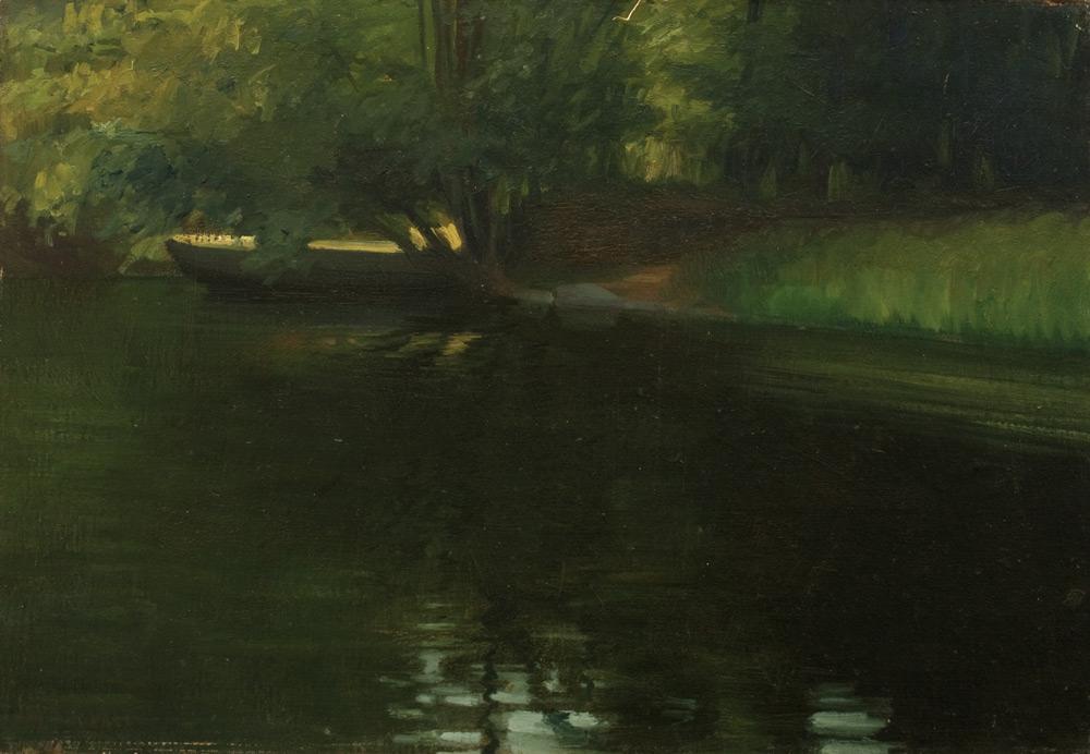 Ștefan Popescu - Pe malul apei