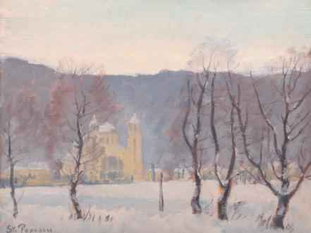Ștefan Popescu - Peisaj de iarnă