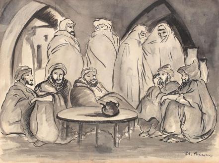 Ștefan Popescu - Scenă din Marrakech