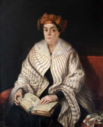 Constantin Daniel Rosenthal - Portret de femeie.