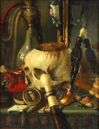 Constantin Daniel Rosenthal - Vanitas (1848)