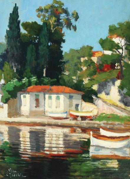 Constantin Isachie Popescu - Case la Nice