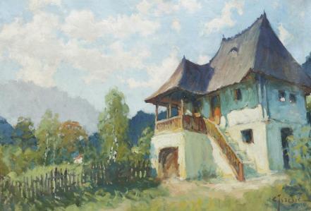 Constantin Isachie Popescu - Cula munteneasca