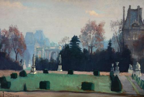 Constantin Isachie Popescu - Jardin des Tuileries