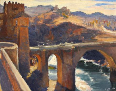 Constantin Isachie Popescu - Puente de San Martin, Toledo