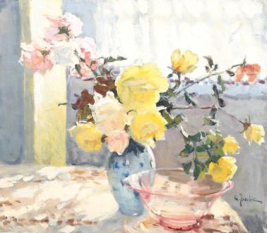 Constantin Isachie Popescu - Trandafiri