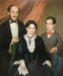Constantin Lecca - Familia Artistului
