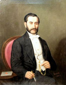 Constantin Lecca - Portret de barbat.