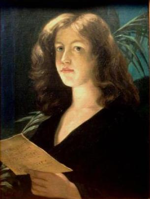 Constantin Lecca - Portret de doamna descifrind o partitura