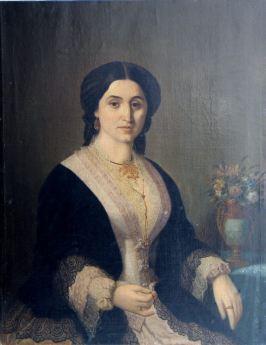 Constantin Lecca - Portret de femeie