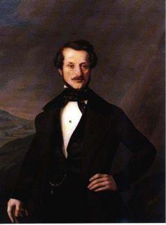 Constantin Lecca - Portretul lui Petre Lacusteanu
