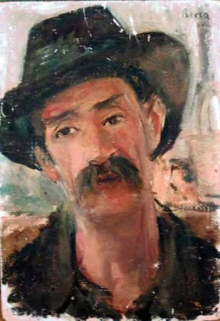 Dimitrie Berea - Peasant from Bucharest