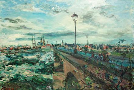 Dimitrie Berea - Podul către catedralele din Moulins
