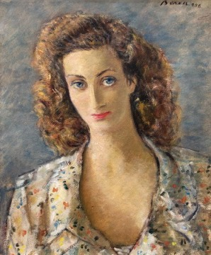 Dimitrie Berea - Portret de femeie