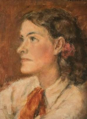 Dimitrie Berea - Portret de femeie.