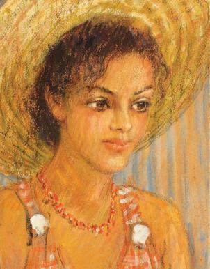 Dimitrie Berea - Portretul Lizicăi