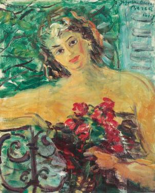 Dimitrie Berea - Portretul unei doamne