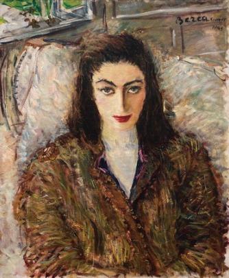 Dimitrie Berea - Portretul unei doamne.
