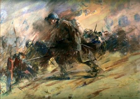 Emilian Lăzărescu - Ajunsi in prima linie de foc