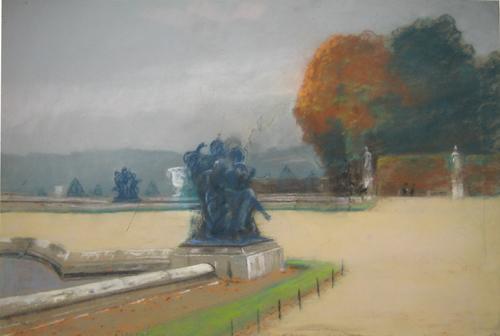 Emilian Lăzărescu - Le Jardin des Tuileries