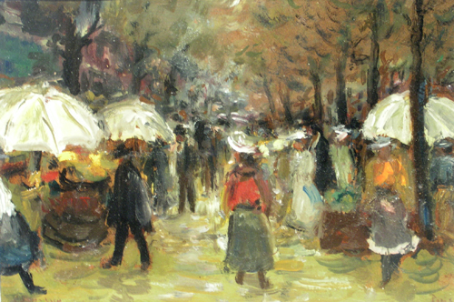 Emilian Lăzărescu - Peisaj parizian