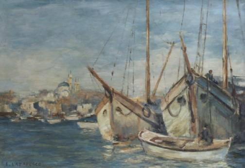 Emilian Lăzărescu - Port