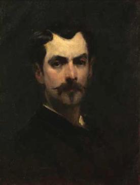 George Demetrescu Mirea - Autoportret