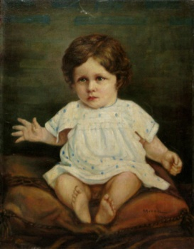 George Demetrescu Mirea - Copil asezat