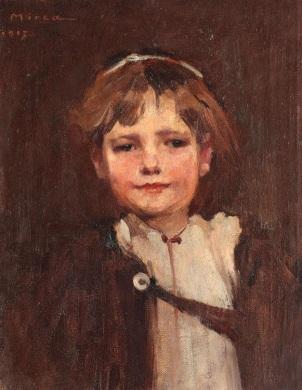 George Demetrescu Mirea - Flăcău din Ardeal, 1917