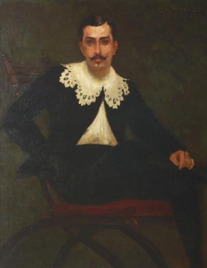 George Demetrescu Mirea - Nicolae Petraşcu in Hidalgo