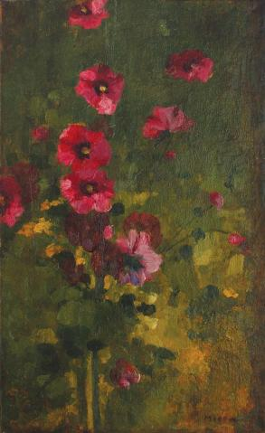 George Demetrescu Mirea - Panou floral