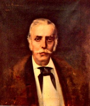 George Demetrescu Mirea - Portret de barbat