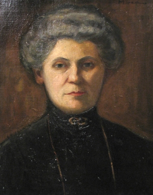 George Demetrescu Mirea - Portret de femeie