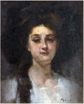 George Demetrescu Mirea - Portret de femeie.