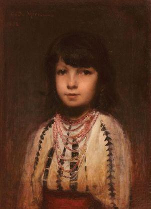 George Demetrescu Mirea - Portret de fetita
