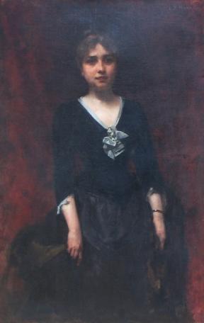George Demetrescu Mirea - Portretul doamnei Sileanu