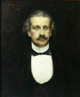 George Demetrescu Mirea - Portretul lui Alexandru Odobescu