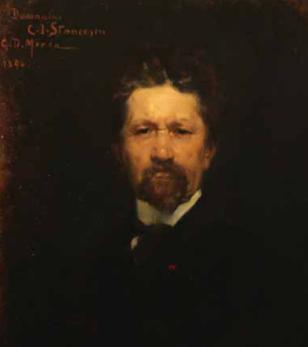 George Demetrescu Mirea - Portretul lui C. I. Stăncescu