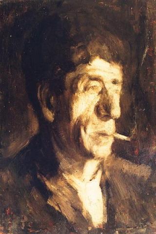 George Demetrescu Mirea - Portretul pictorului Luchian