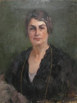 George Demetrescu Mirea - Portretul unei doamne.